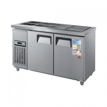 찬밧드 냉장고 1500 아날로그 직접 냉각 냉장 275L 메탈