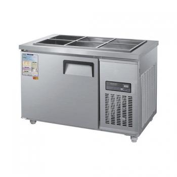 찬밧드 냉장고 1200 디지털 직접 냉각 냉장 190L 메탈