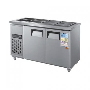 찬밧드 냉장고 1500 디지털 직접 냉각 냉장 275L 메탈