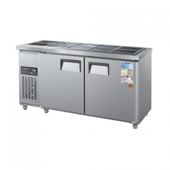 찬밧드 냉장고 1800 디지털 직접 냉각 냉장 360L 2도어 메탈
