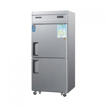 30박스 디지털 직접 냉각 냉동 340L 냉장 340L 메탈