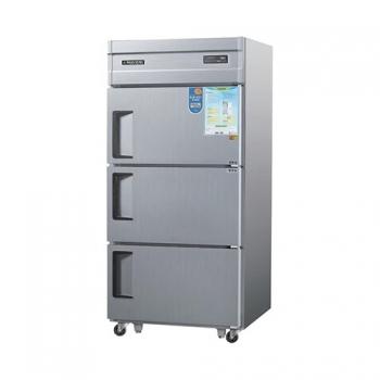 30박스 디지털 직접 냉각 냉동 710L 3도어 내부 스텐