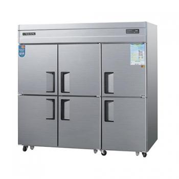 65박스 디지털 직접 냉각 냉동 1710L 내부 스텐