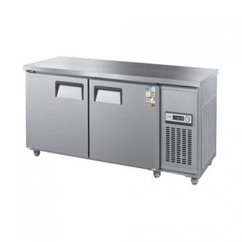 보냉테이블 1800 아날로그 직접 냉각 냉동 475L 메탈