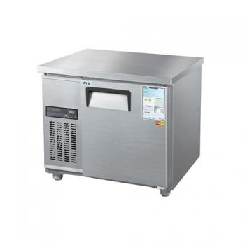 보냉테이블 900 디지털 직접 냉각 냉동 153L 메탈