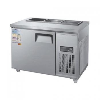 찬밧드 테이블 냉장고 1200 디지털 직접 냉각 냉장 190L 메탈