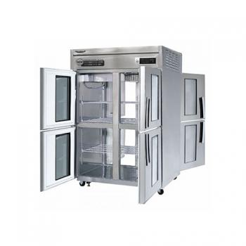 수직형 간냉 1100 양문형 냉장고 1042L (유리도어:4)