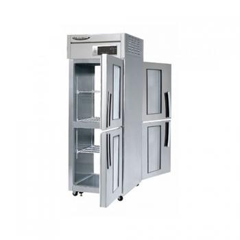 수직형 간냉 600 양문형 냉장고508L (유리도어:2)