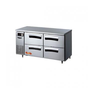 1500 간냉 냉장 테이블 ALL 서랍형 391L