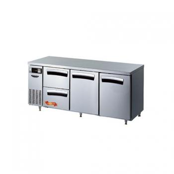 1800 간냉 냉장 테이블 2서랍(좌),2스윙도어형(중,우) 502L