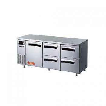 1800간냉 냉장 테이블 1스윙도어(좌),4서랍형(중,우) 497L
