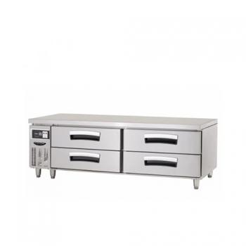 1800 간냉 2단 서랍식 테이블 냉장고 326L