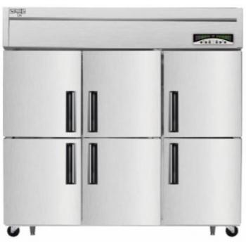 수직형 직냉식 65박스 냉동1685L 내부스텐 외부메탈