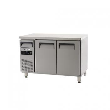 에버젠 직접냉각방식 냉동 테이블 1200 디지털 냉동 285L 2도어