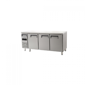 에버젠 직접냉각방식 냉동 테이블 1800 디지털 냉동 497L 3도어